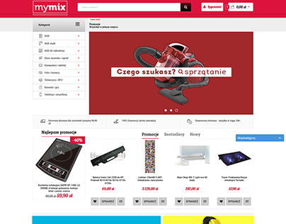 MyMix Poland project - All-round e-commerce