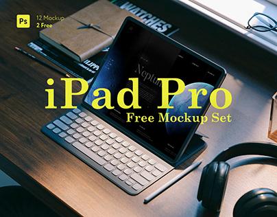 iPad Pro / free mockup set