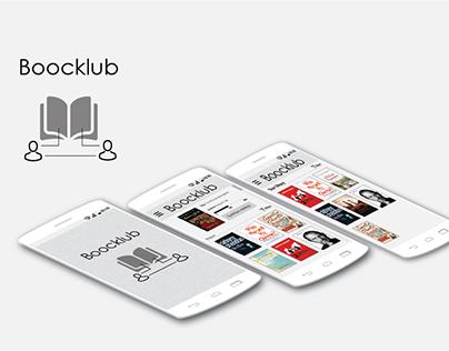 Boocklub - A mobile application