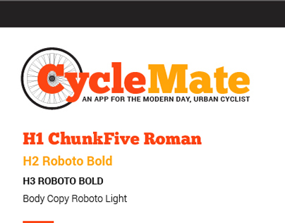CycleMate Capstone Project