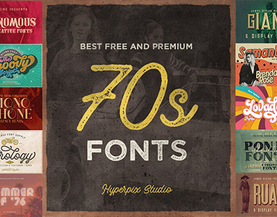 70s Fonts Collection