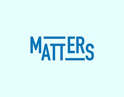Matters Podcast Branding & Website