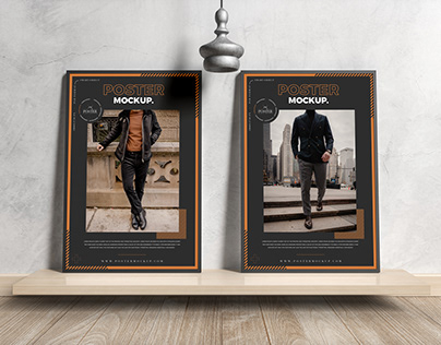 Framed Posters Mockup Free