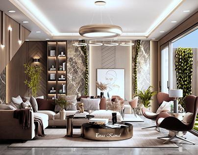 living room-reception