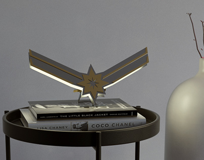 captain marvel lamp