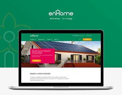 enHome redesign (original concept)