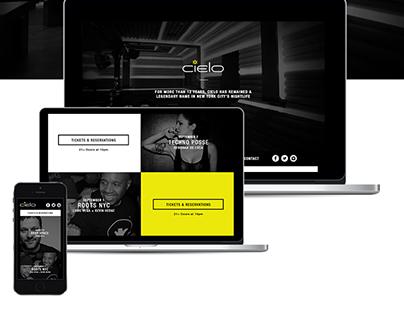 Cielo NYC Website Re-Design