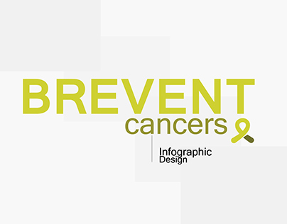 PREVENT CANCERS, Infographic design