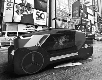 Tesla New York City Cab