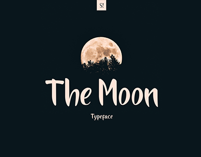 The Moon | Font Free!