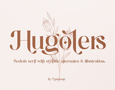 FREE   Hugolers Stylish Modern Serif