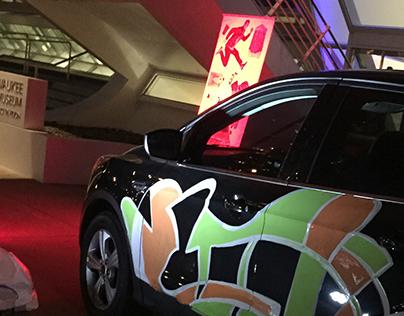 Car Art for Zipcar