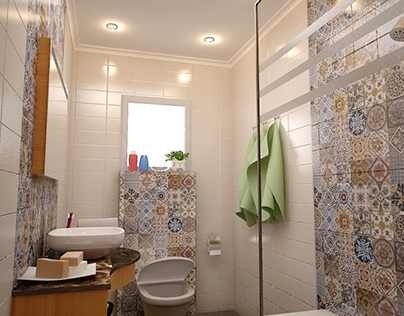 Private Villa - Bathroom Interior Design