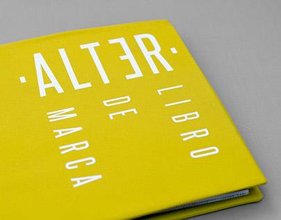 A L T E R Brand book - Editorial layout