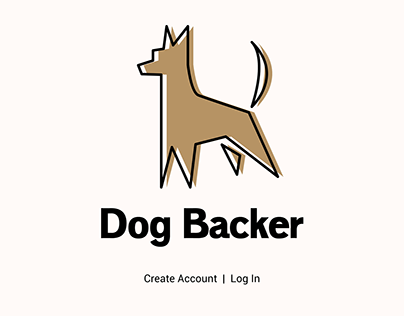 Dog Backer - Concept Design
