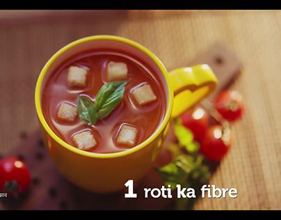 Saffola soups ad Foodstylist Payal Gupta 🥣