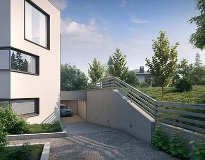 Group of villas in Norway