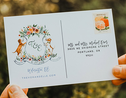 Stationery Illustrations & Lettering: Wide Eyes Paper