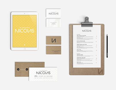 Les Dégustations de Nicolas - Identité visuelle