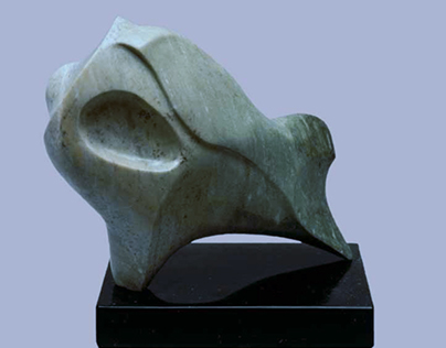 Sculptures Using Marbles of Varying Type