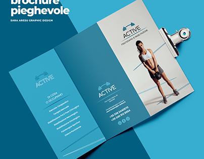 materiale promozionale Studio di Fisioterapia