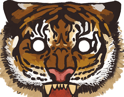Artblock Cure: Tigers