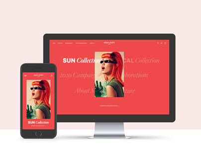 Alain Mikli - shoppable website - UI Master TAG Milano