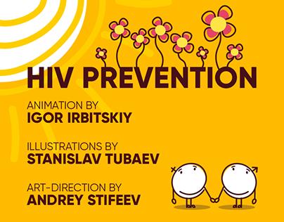 "Hiv prevention infographic for ""EVA"""