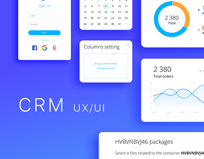 CRM for the shipping company