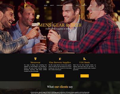 Men's Gear and Beer