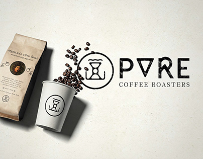 PURE COFFEE ROASTERS - Identity & Package Design