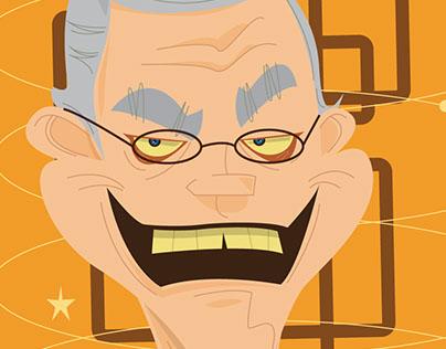 David Letterman Vector