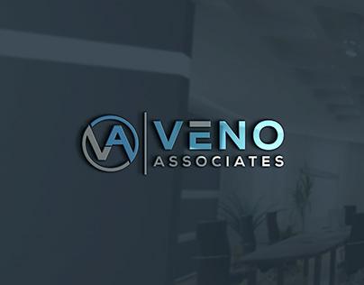 Modern Logo   VENO ASSOCIATES logo   Logo folio2021