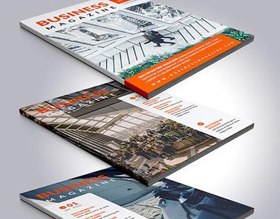 Business Magazine (template design)