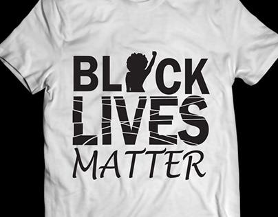 black live matter t shirt