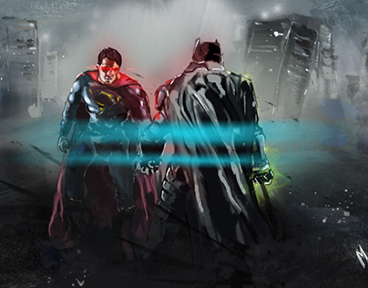 Batman vs Superman study
