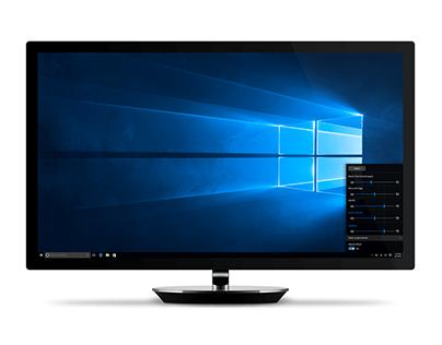 Windows 10 Volume Controls Redesign