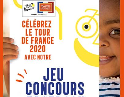 Supports social média - Banane Gwadeloupe Martinique