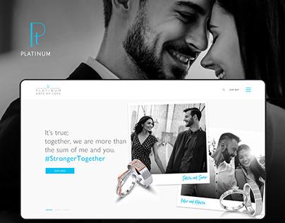 Platinum Days Of Love - Website Redesign (Ui/Ux)