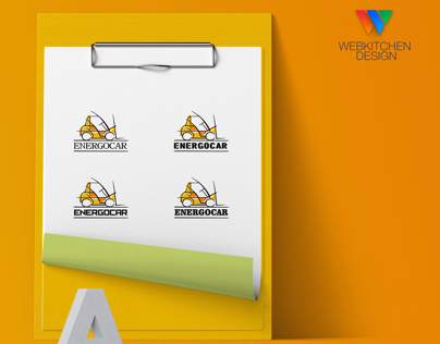 Energocar logo design