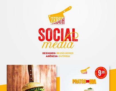 Social Media - Zebuh Grill