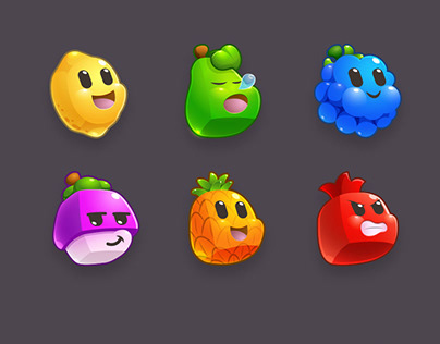 Fruit Cartoon mobile game