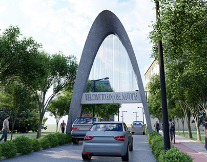 WELCOME ARCH DESIGN