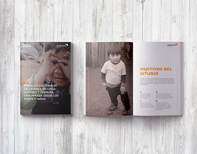 Diseño editorial para WORLDVISION CHILE