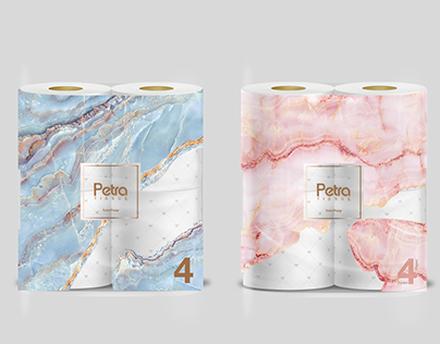 Petra Tissue Rebranding - Packaging
