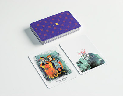 Royal Black Peter playing cards