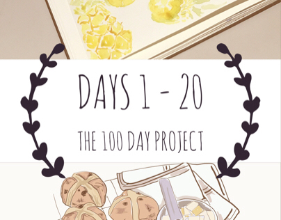 Days 1 - 20: The 100 Day Project