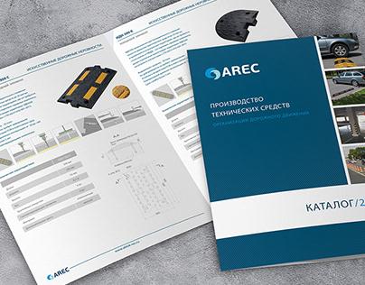 Разработка дизайна и верстка технического каталога