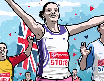 Virgin Media London Marathon 2017