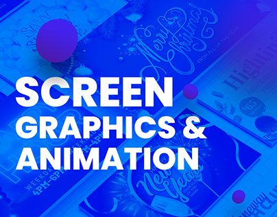 Graphics and Animations for TV Screens